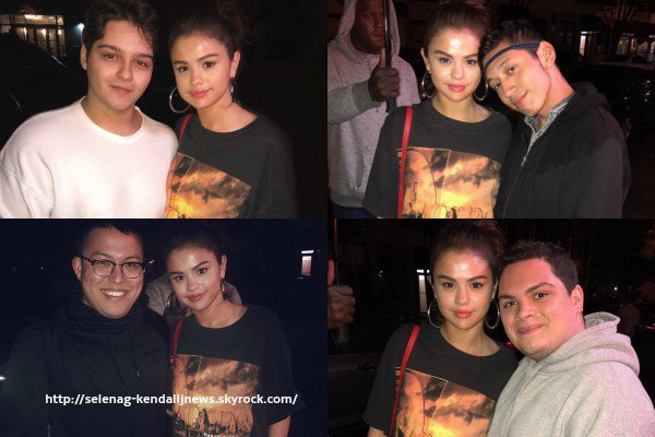 2 septembre 2017 : une journée chargée pour Selena Gomez