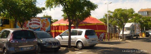 """Cirque """"La parade du Cirque"""" PORTIRAGNES-PLAGE  1/3"""