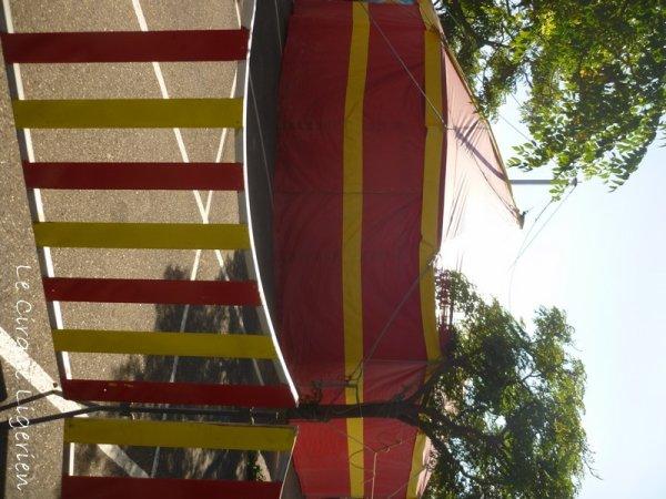 """Cirque """"La parade du Cirque"""" PORTIRAGNES-PLAGE  2/3"""