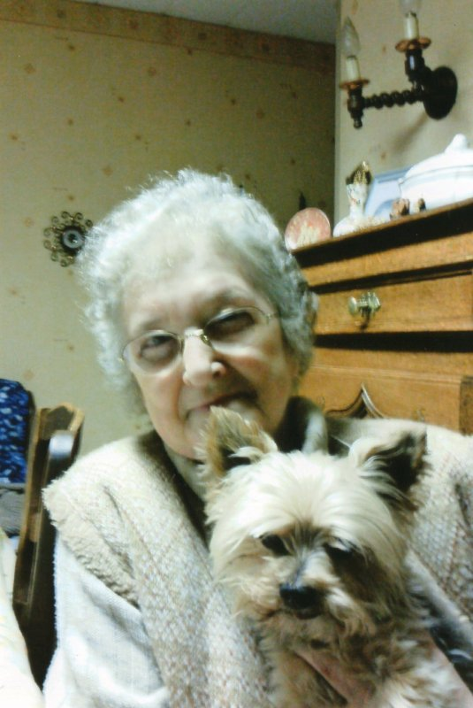 A ma grand_mère que j'aime très fort