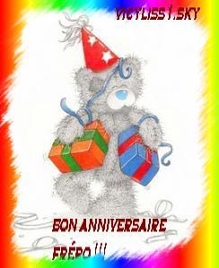 Bon Anniversaire Au Frero Me To You
