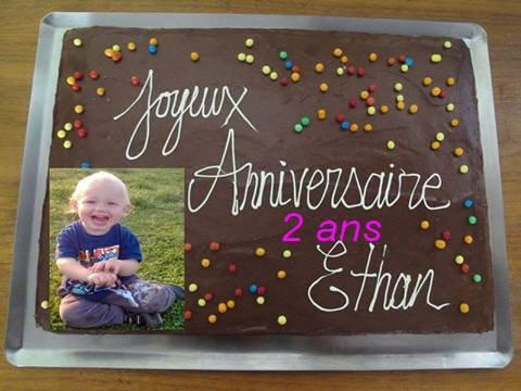 le 13.04.2014 l anniversaire de notre bebe 2 ans