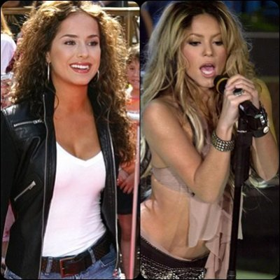 sa ngjajn Danna & Shakira  1-10 ..?