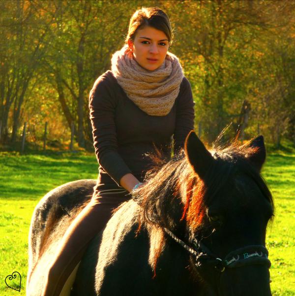 L'équitation c'est tout simplement un art ♫