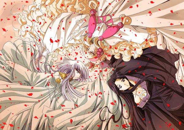 Hilda de Polaris, Flamme et Pandora- La déesse noire