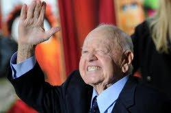 L'acteur américain Mickey Rooney est décédé.