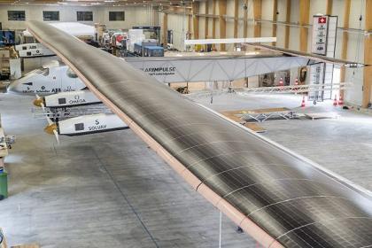 Le rideau s'est levé sur Solar Impulse 2