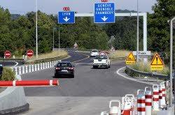 Fermetures nocturnes sur l'autoroute A43 le lundi 12 et le mardi 13 mai