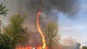 Etats-Unis: Après les tornades, le tourbillon de feu