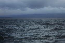 Avis de tempête sur le lac Léman