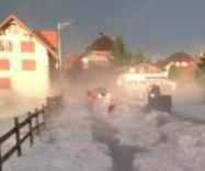 Grêle et inondations en Suisse alémanique