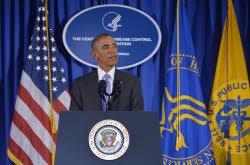 Ebola: Obama appelle le monde à «agir vite» pour éviter le pire