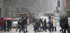 Une tempête de neige sème le chaos à New York
