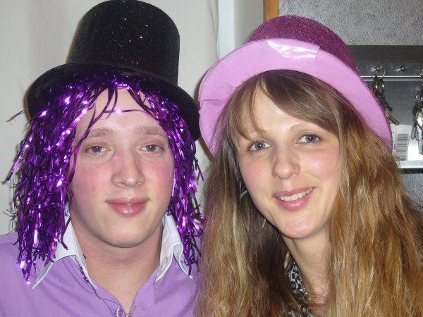 mon homme et sa soeur sandy gros bisou