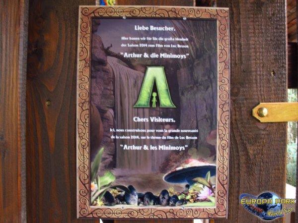Nouveauté 2014 : Arthur the Ride, Part 1
