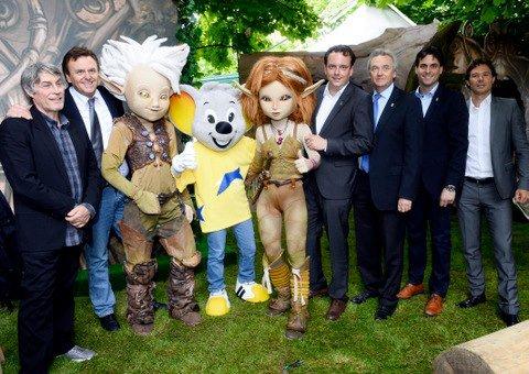 Mascottes Arthur & les Minimoys