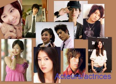 Acteurs et Actrices Asiatiques