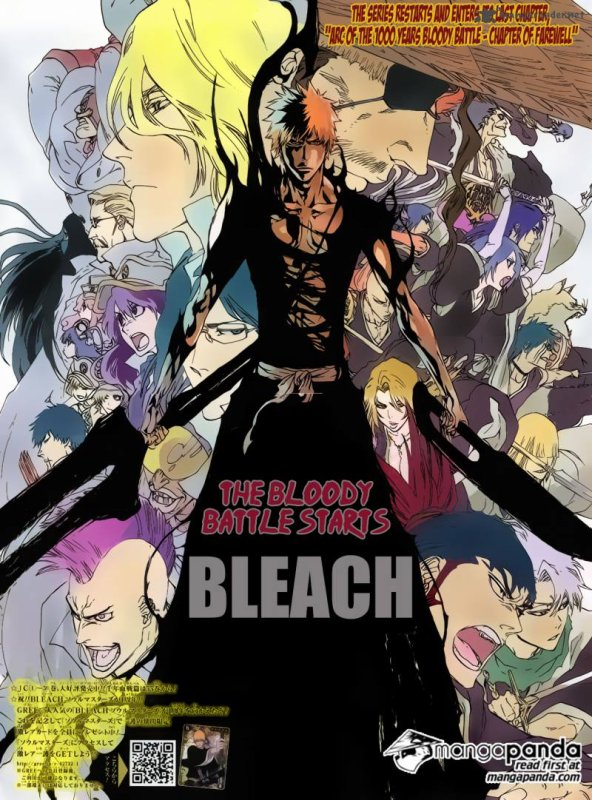 Bleach spoiler arc final
