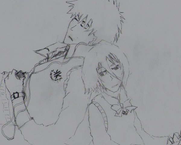 Konnichiwa mina-san dessin fait par moi