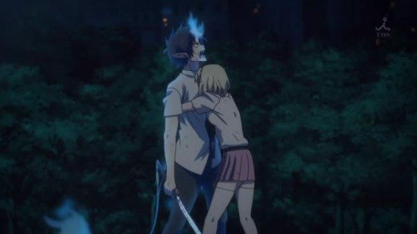Ao no Exorciste Shiemie et Rin