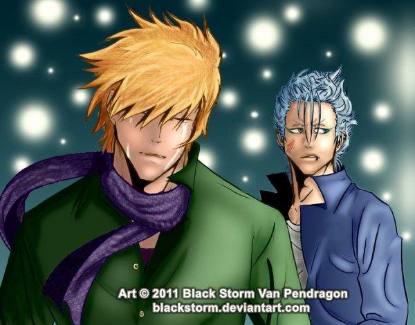 Voici un liens vers une fanfic que j'adore oui c'est un Yaoi Grim/Ichi  ( dessin autres auteurs )