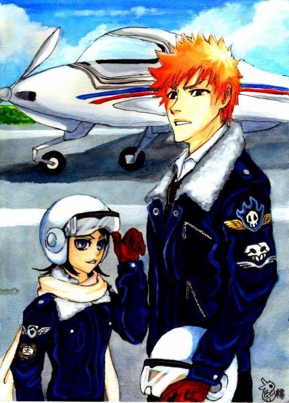 Titre : Le Secret D' Ichigo Chapitre VIII Laissé Des Souvenir Précieux   ( Dessin autre auteurs sauf un qui est de moi )