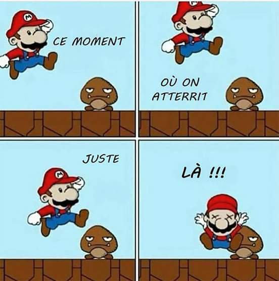 Tous joueur de Mario comprendra :')