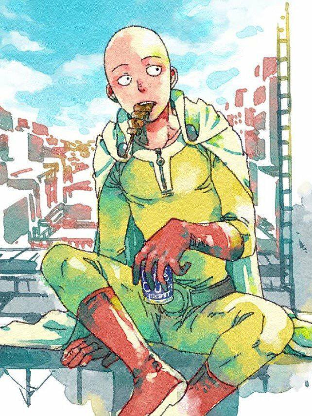 One punch man *^*