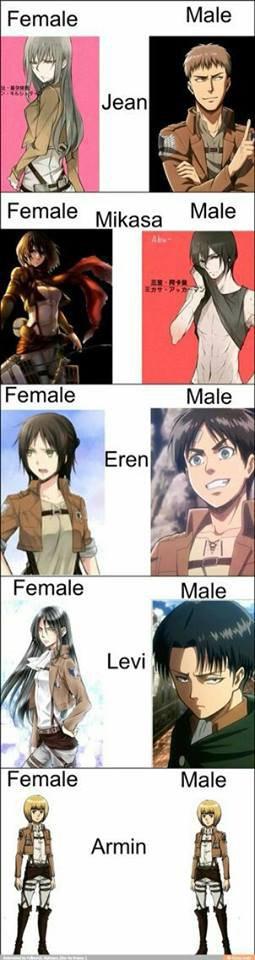 Sexy Armin dis donc xD