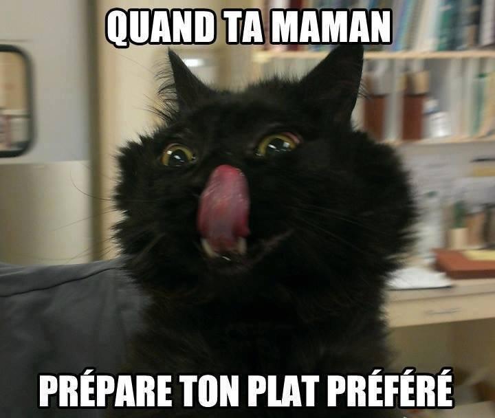 Ou quand elle commande ton plat préférer ! :3