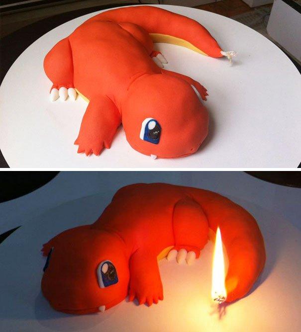 J'ai cru c'était un gâteau mais c'est une bougie xD