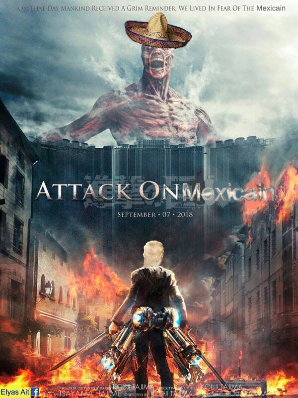 Attack on Meixcain pas mal sa xDD