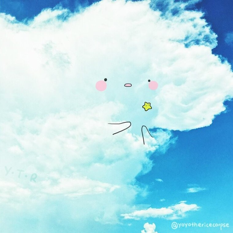 Mais .. Quel petit nuage kawai *^*