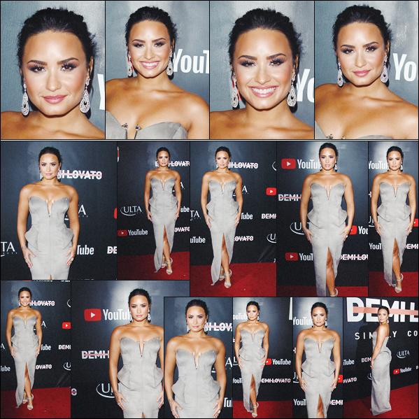 11/10/17 : Notre Demi était à l'avant-première du documentaire Simply Complicated au Fonda Theatre à Los Angeles. Notre belle Demi était heureuse de pouvoir présenter son prochain documentaire qui sera disponible de 17/10 sur Youtube. J'ai vraiment hâte de le voir.