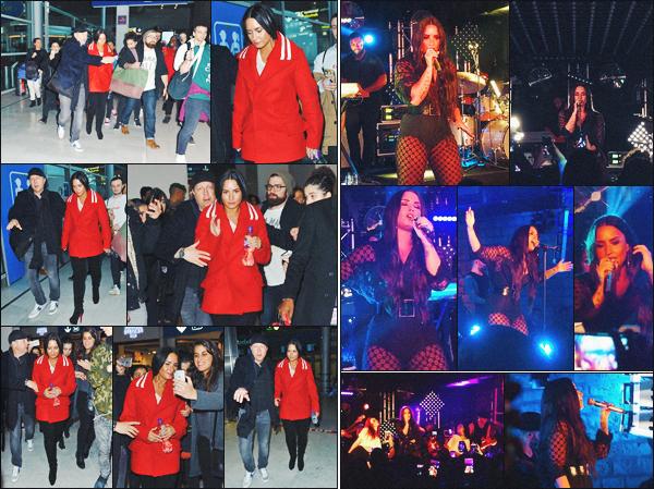 15/11/17 : Notre Demi Lovato a été photographié et a performé lors d'un concert privé organisé au  Fost, situé à Paris. La belle a aussi été vu un peu plus tôt dans la journée, arrivant à l'aéroport Charles De Gaulle et provenant d'Heathrow. Un top. Donne-moi ton avis.