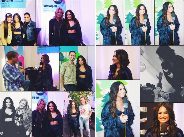 18/11/17 : Notre Demi Lovato a été interviewé alors qu'elle se trouvait à Westwood One backstage pour les AMA's à L.A. C'est toute souriante et très jolie que Demetria L. a accepté cette interview, la veille de sa performance aux AMA's, j'adore, un top. Donne-moi ton avis.