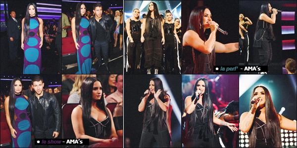 19/11/17 : La sublime et radieuse Demetria Lovato était présente lors des American Music Awards 2017 organisé à L.A. Voici donc les photos du red carpet, ainsi que la performance de Demi sur Sorry Not Sorry en live lors de la cérémonie, un gros top. Donne-moi ton avis.
