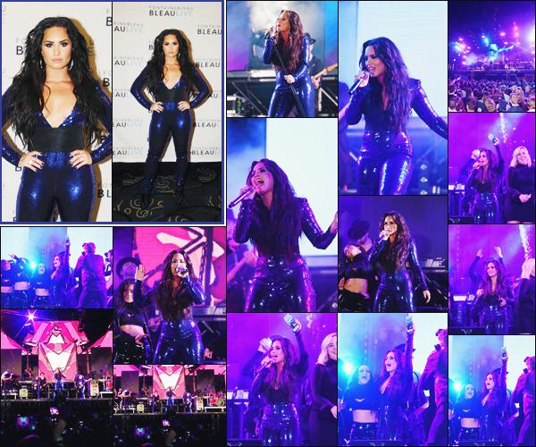 31/12/17 : Demi Lovato a performé au « New Years Eve Performance» organisé à  Fontainebleau Poolside à Miami - FL. Cela sera donc sa dernière performance pour l'année 2017 qui vient de s'écouler, un gros top pour la belle ainsi que pour son année.  Donne-moi ton avis.