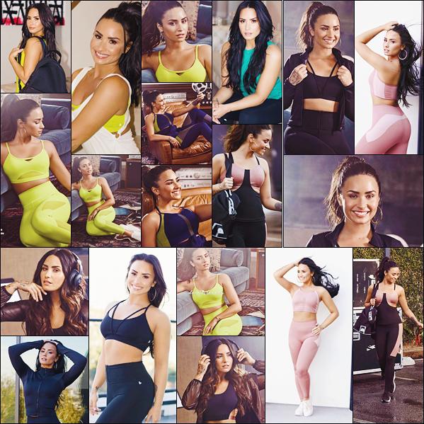 PHOTOSHOOT | 2018 - Découvrez le nouveau shooting de Demi pour Fabletics - par K. Otto!