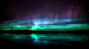 une aurore boréale :)