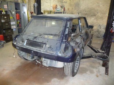 restauration d 39 une renault 5 turbo 2 renault 5 turbo2. Black Bedroom Furniture Sets. Home Design Ideas