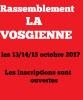 La VOSGIENNE 13.14.15 octobre 2017