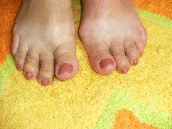 Après les pieds de Giséle.
