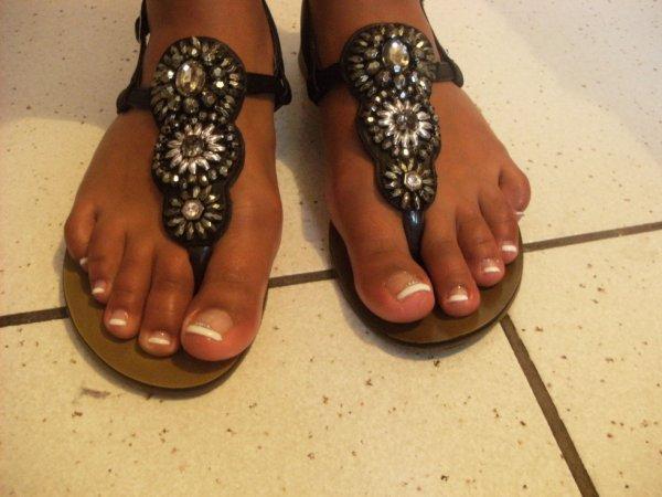 Après les pieds de Célia.