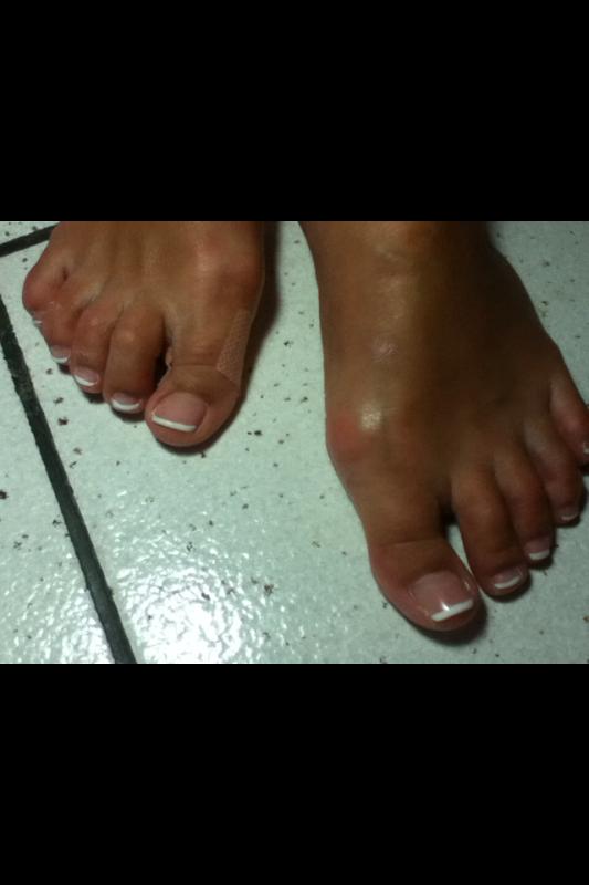 Après les pieds de Sophie.W