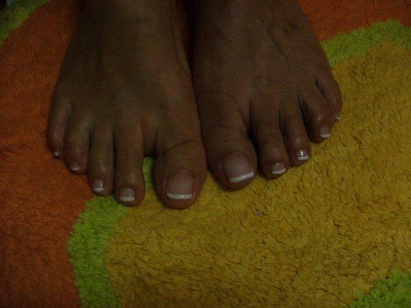 Après les pieds de Samira.