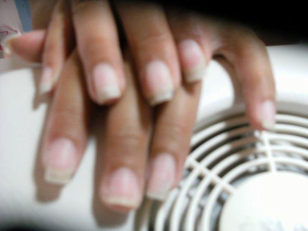 avant les mains de angelique