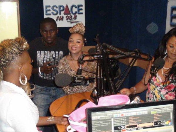 RADIO STATION - ESPACE FM 98.8
