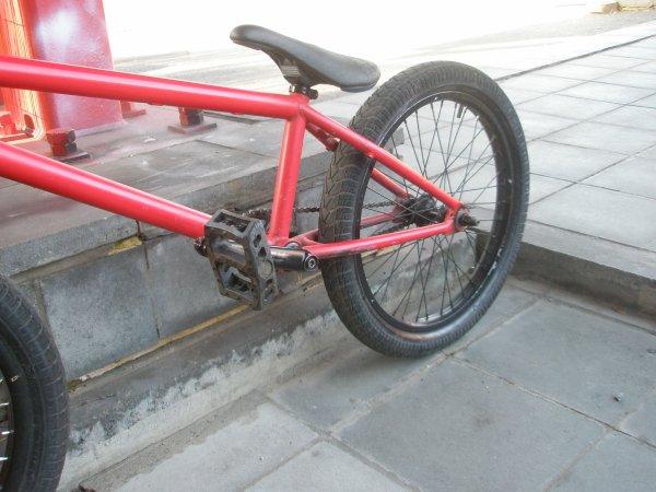 Voltage Rider : Mon BMX