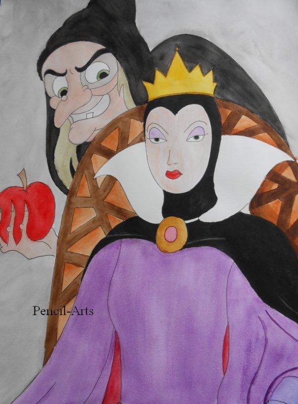 La reine Blanche neige